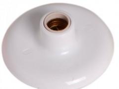 Plafon Br c/ Bocal de Louça